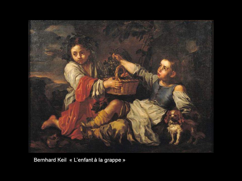 Bernhard Keil « L'enfant à la grappe »