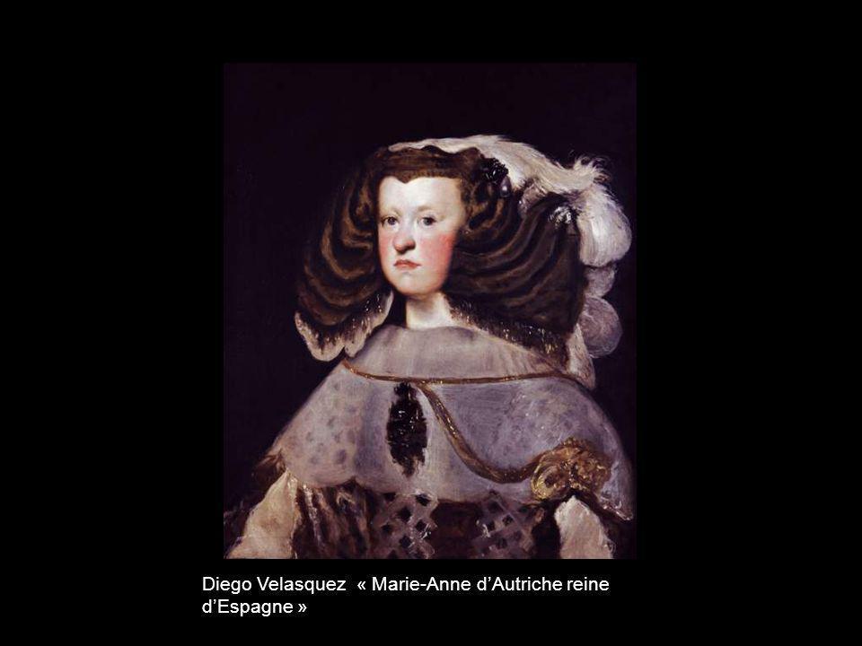 Diego Velasquez « Marie-Anne d'Autriche reine d'Espagne »