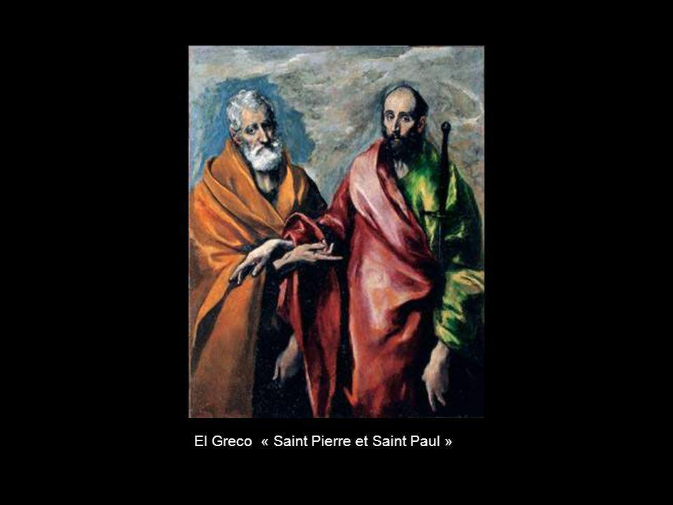 El Greco « Saint Pierre et Saint Paul »