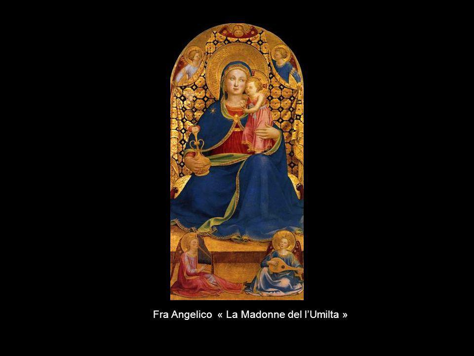 Fra Angelico « La Madonne del l'Umilta »