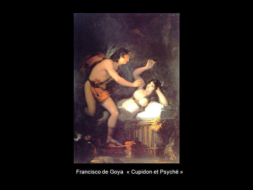 Francisco de Goya « Cupidon et Psyché »