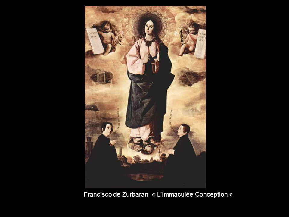 Francisco de Zurbaran « L'Immaculée Conception »