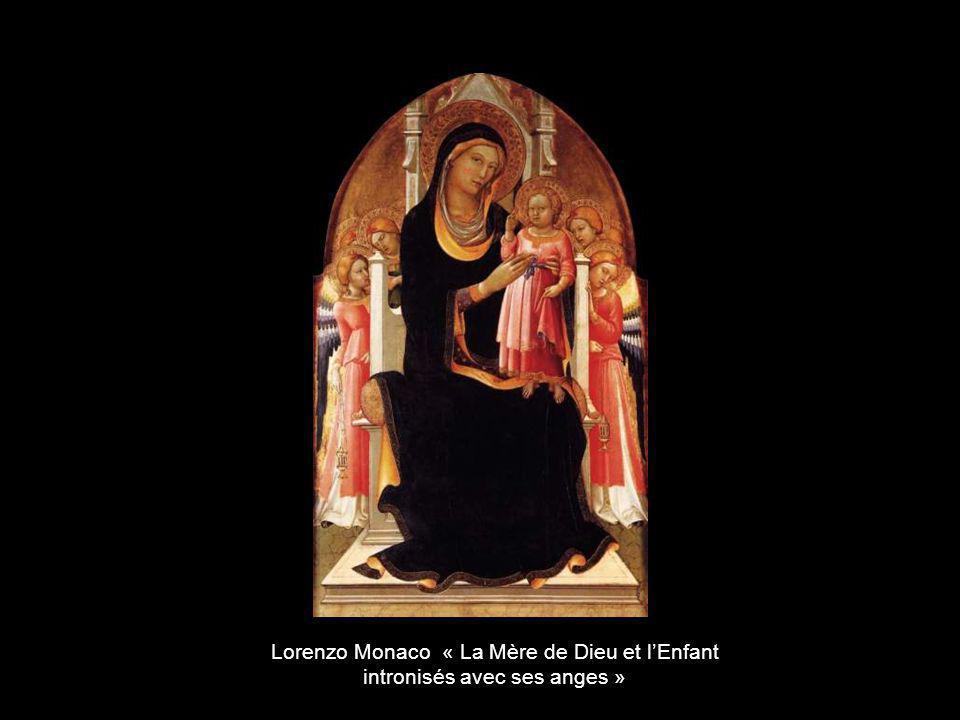 Lorenzo Monaco « La Mère de Dieu et l'Enfant
