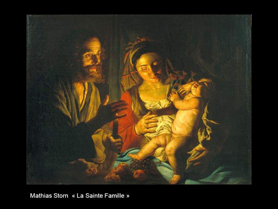 Mathias Storn « La Sainte Famille »
