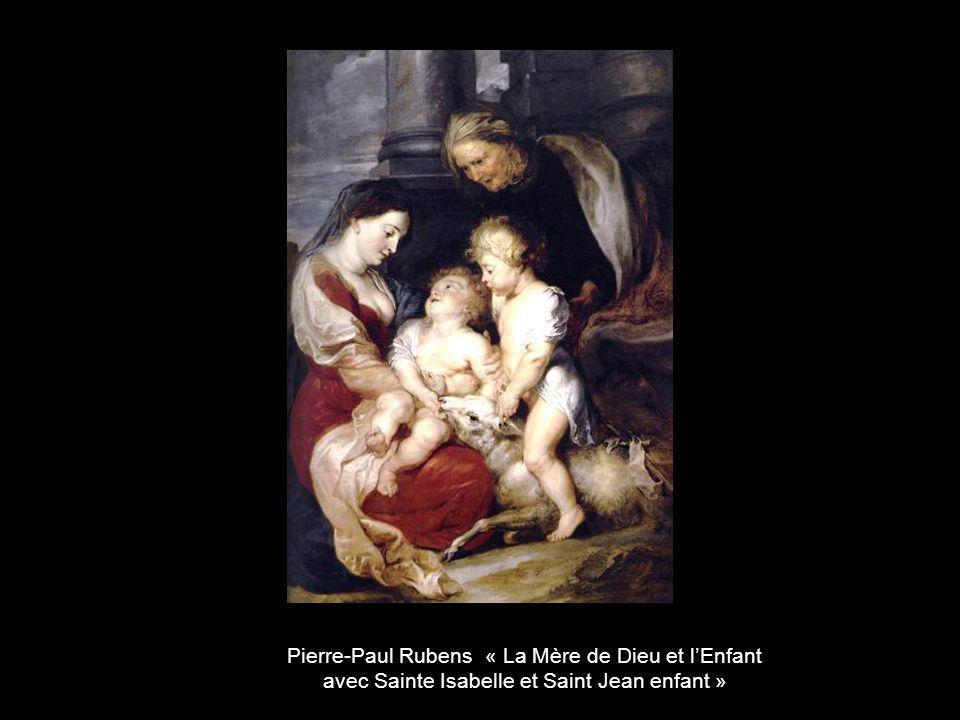 Pierre-Paul Rubens « La Mère de Dieu et l'Enfant
