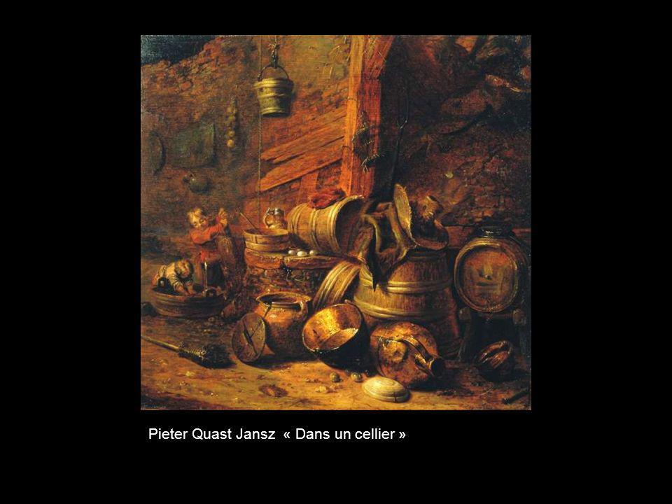 Pieter Quast Jansz « Dans un cellier »