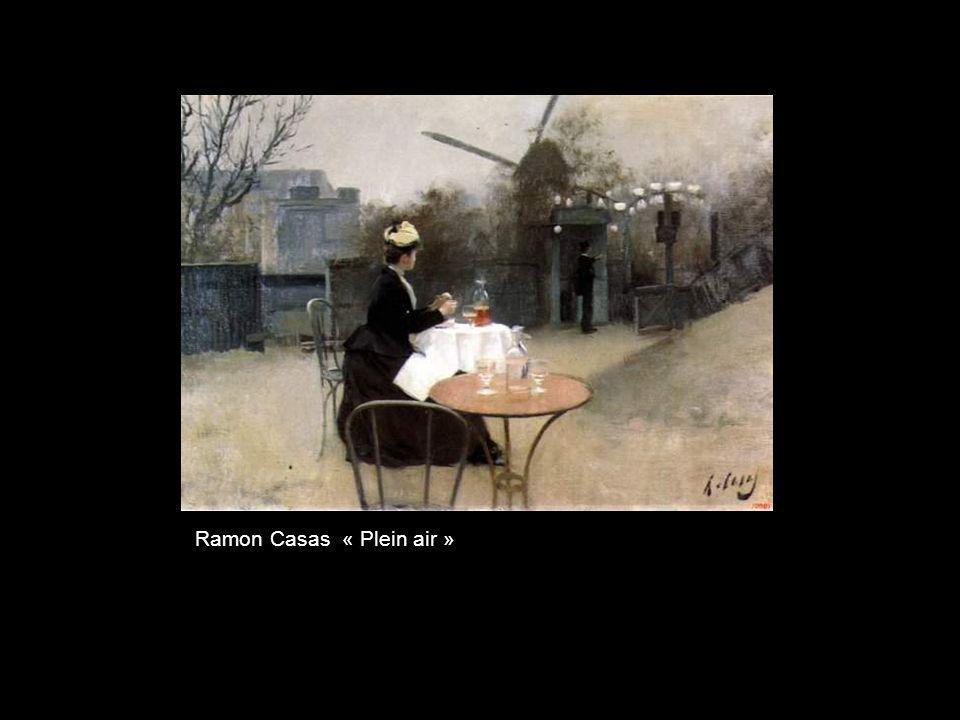 Ramon Casas « Plein air »