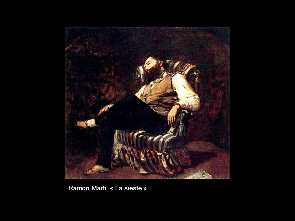 Ramon Marti « La sieste »