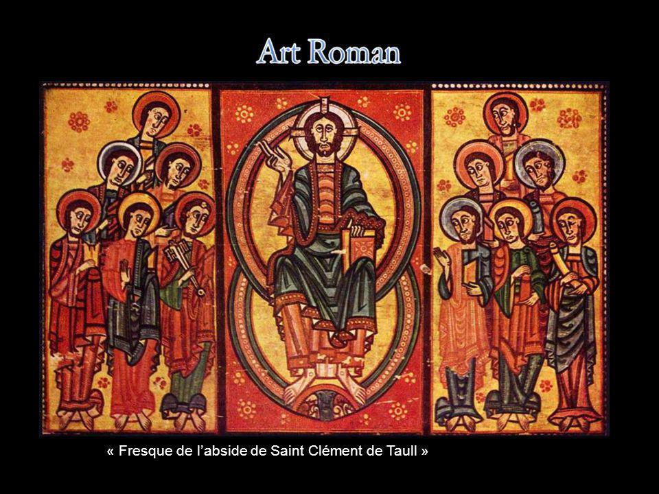 « Fresque de l'abside de Saint Clément de Taull »