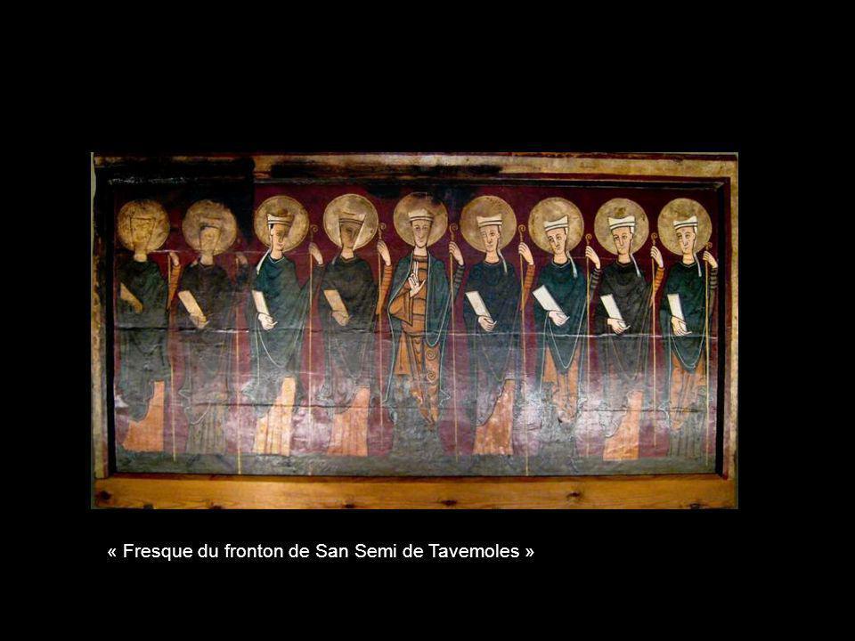 « Fresque du fronton de San Semi de Tavemoles »