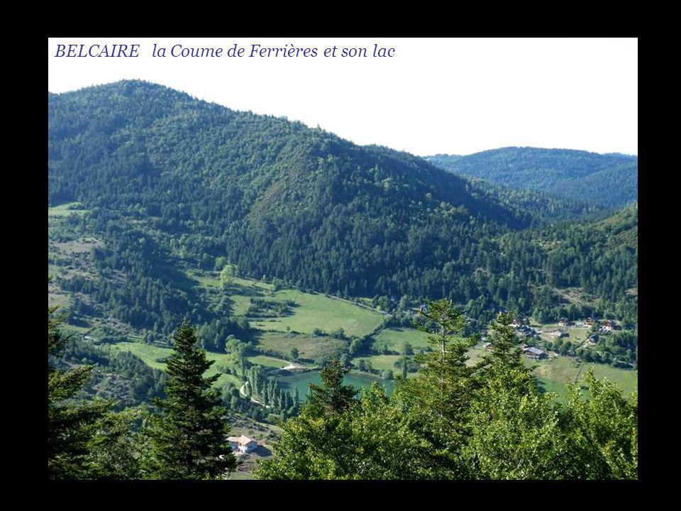 BELCAIRE la Coume de Ferrières et son lac