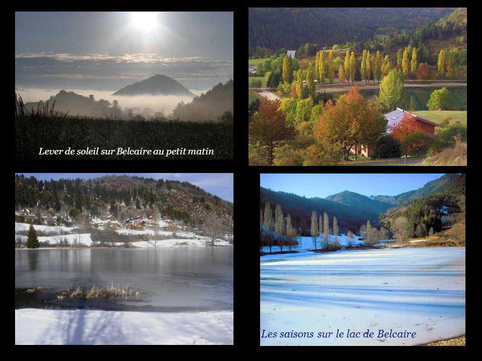 Les saisons sur le lac de Belcaire