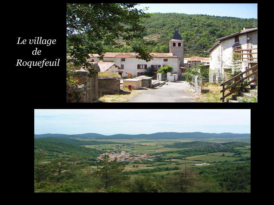 Le village de Roquefeuil