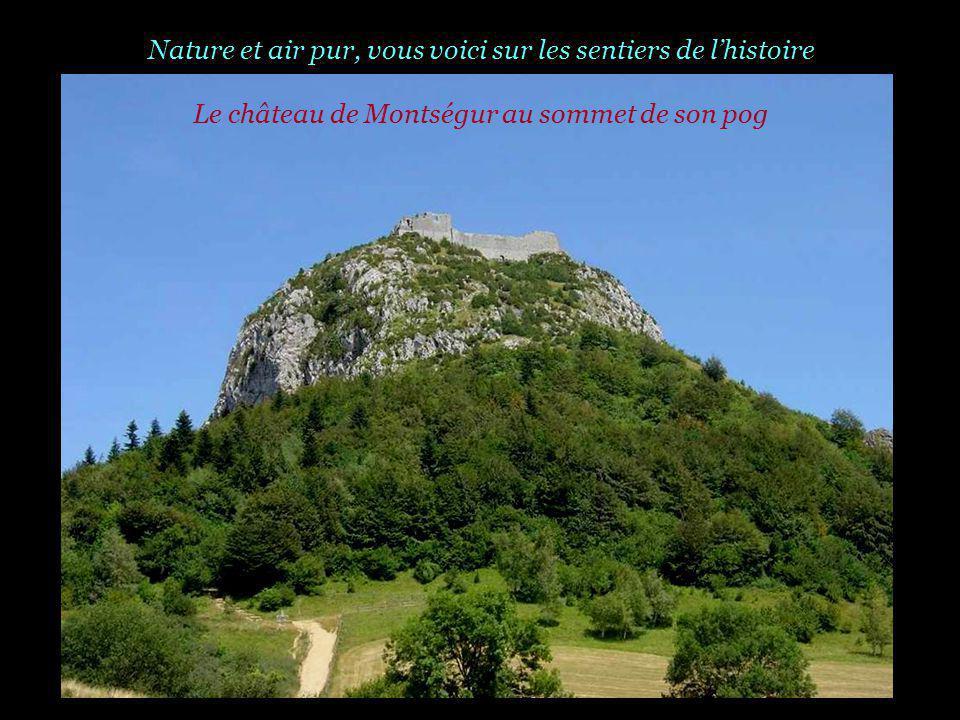 Nature et air pur, vous voici sur les sentiers de l'histoire