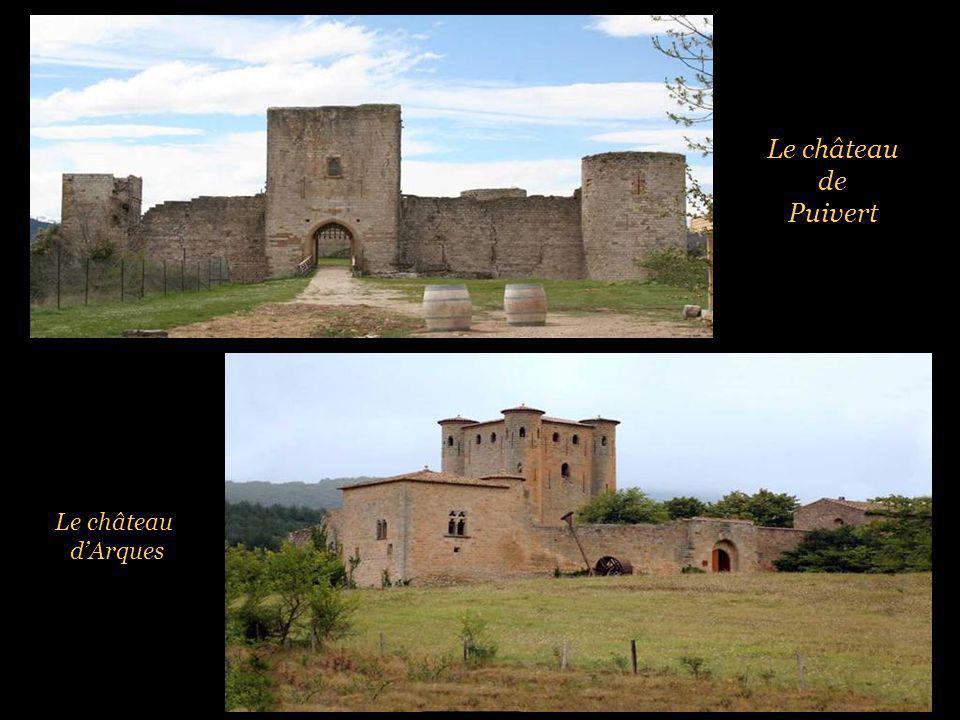 Le château de Puivert Le château d'Arques