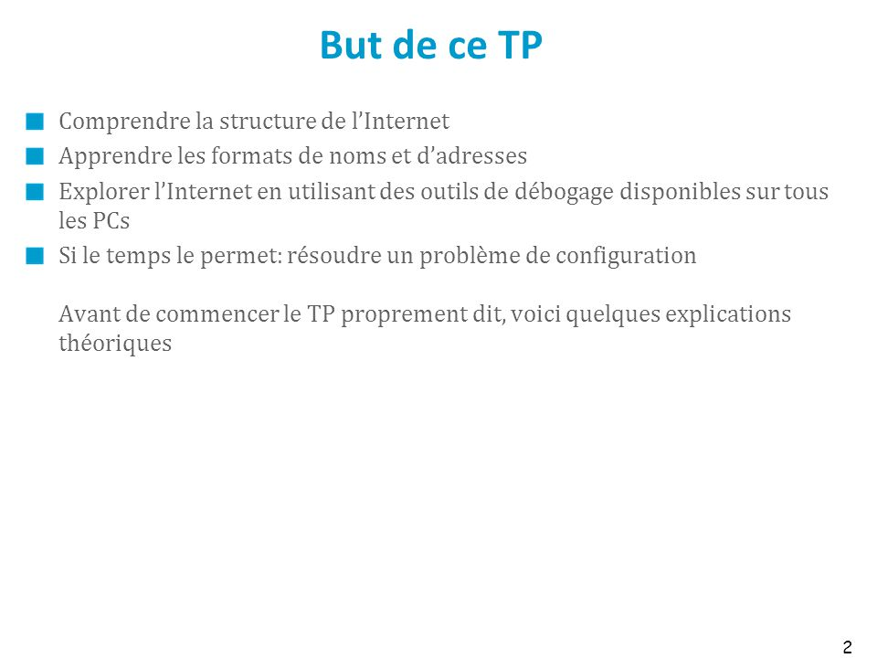 But de ce TP Comprendre la structure de l'Internet