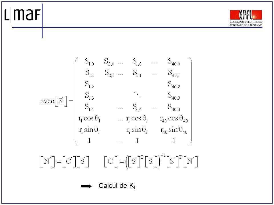 Calcul de KI