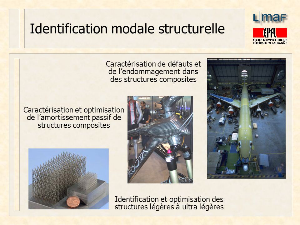 Identification modale structurelle