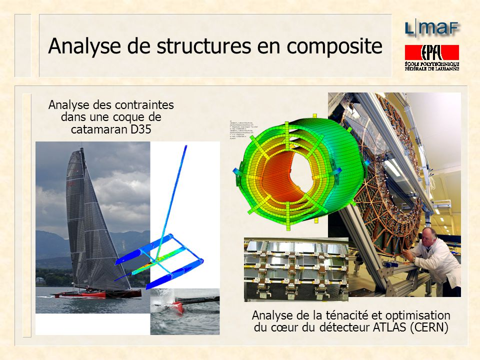 Analyse de structures en composite