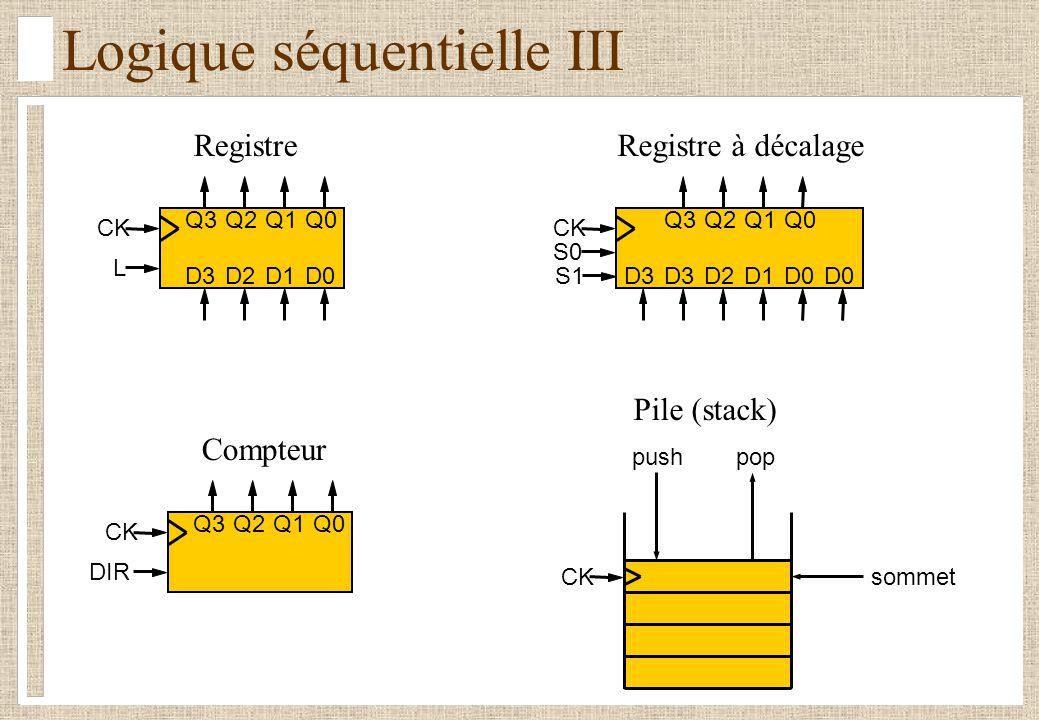 Logique séquentielle III
