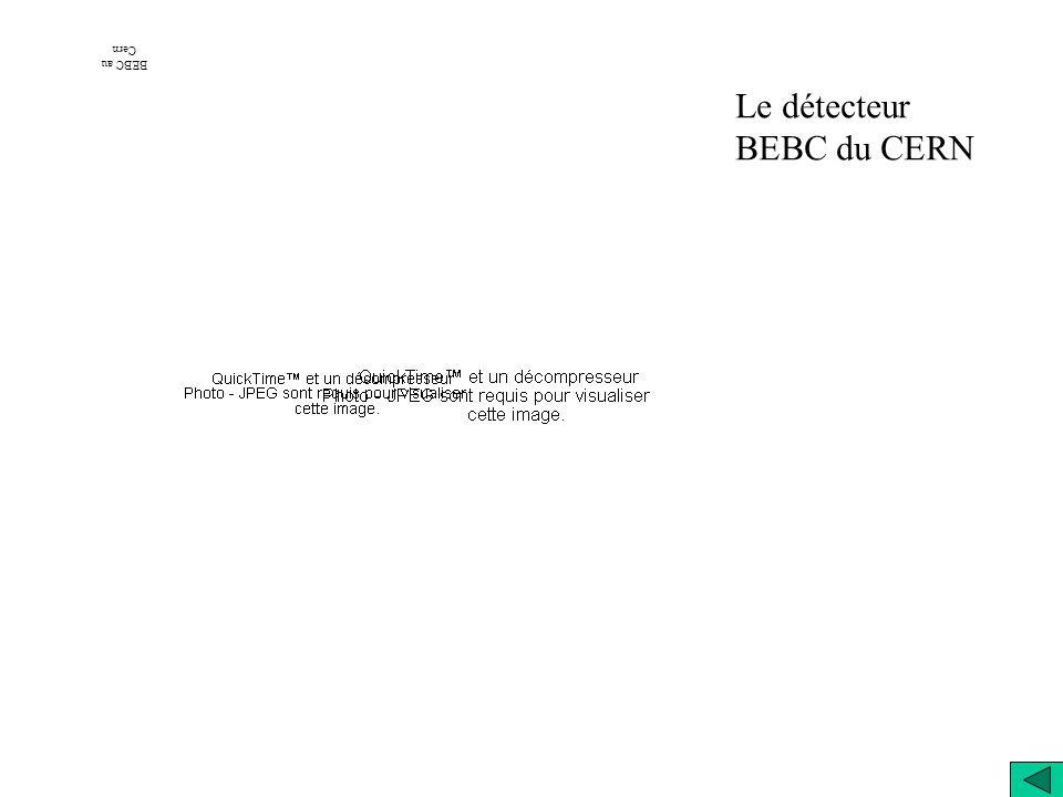BEBC au Cern Le détecteur BEBC du CERN