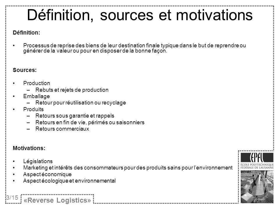 Définition, sources et motivations