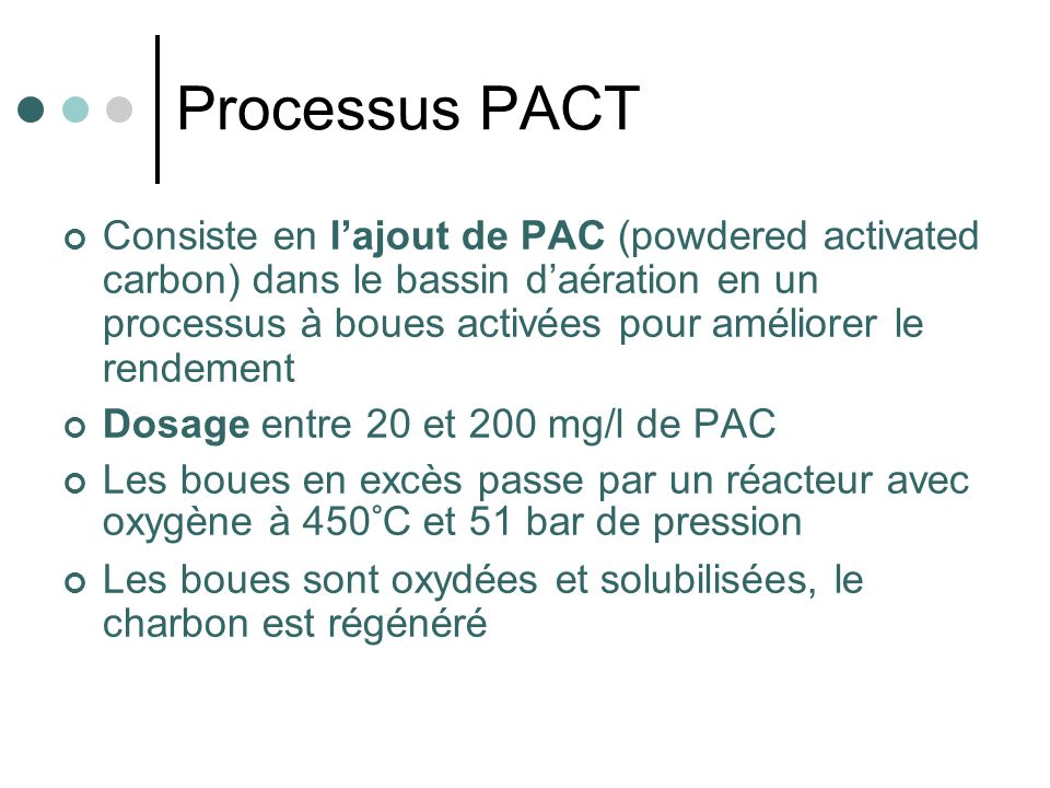 Processus PACT