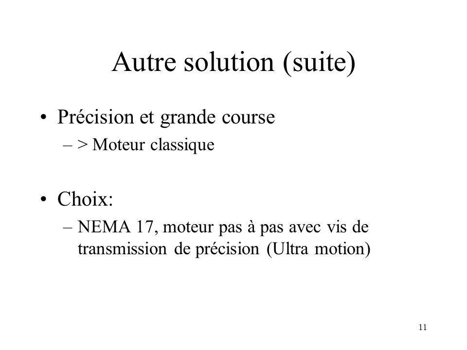 Autre solution (suite)