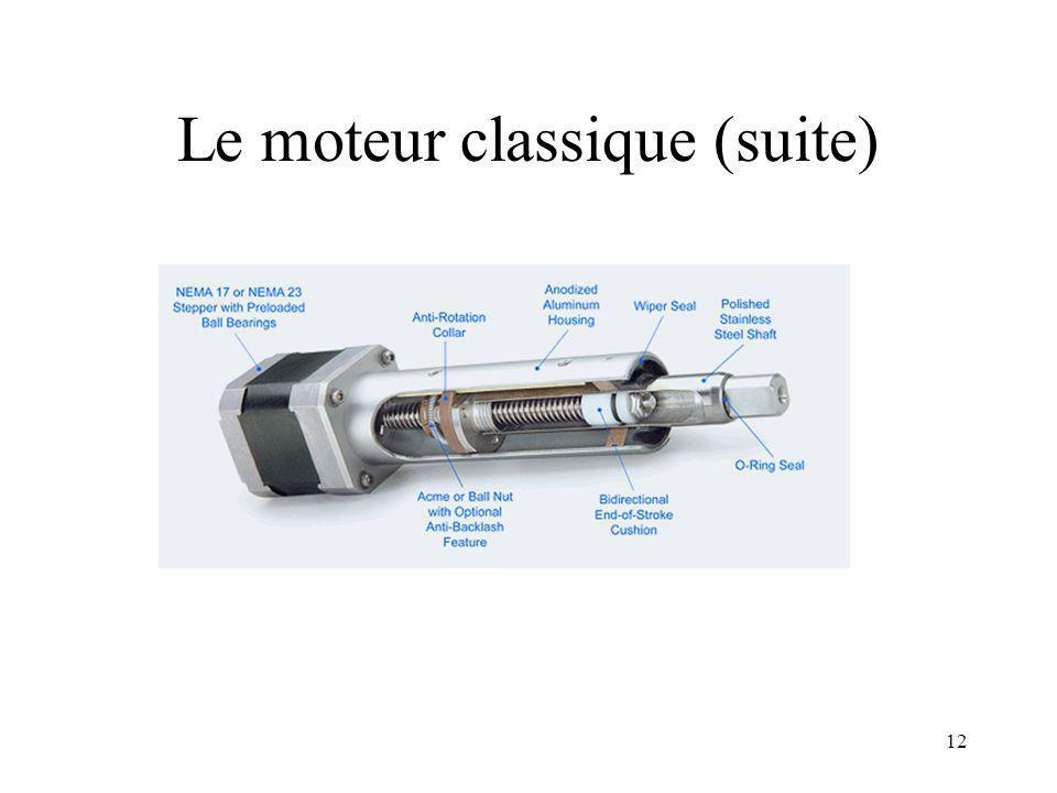 Le moteur classique (suite)