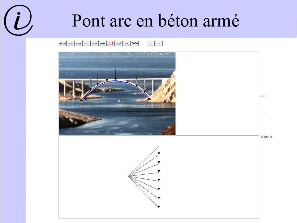 Pont arc en béton armé