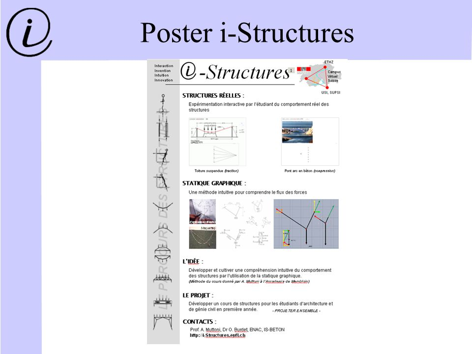 Poster i-Structures