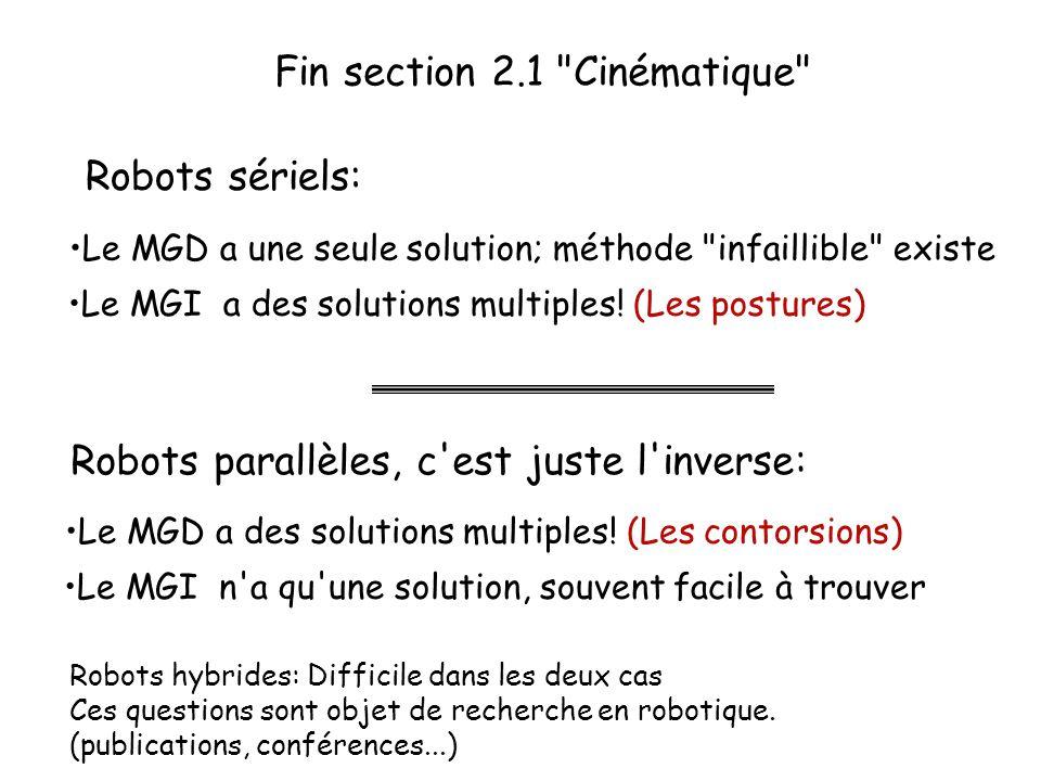 Fin section 2.1 Cinématique