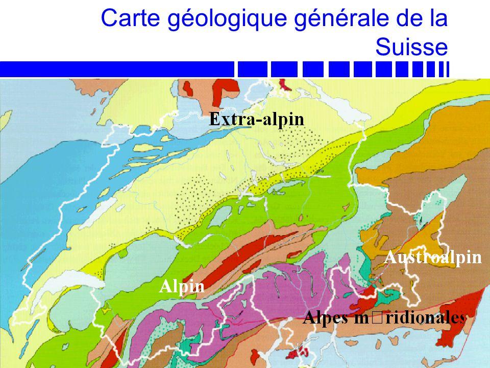 Carte géologique générale de la Suisse