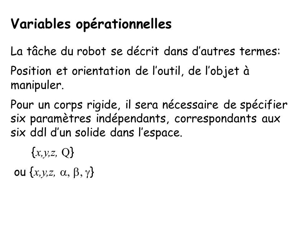 Variables opérationnelles