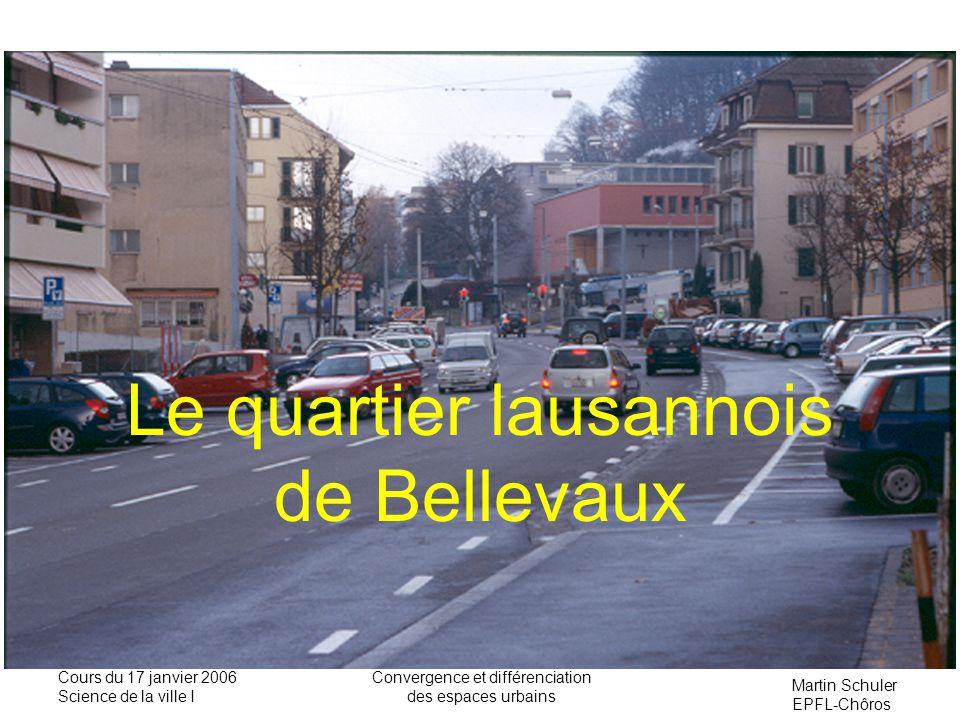 Le quartier lausannois de Bellevaux