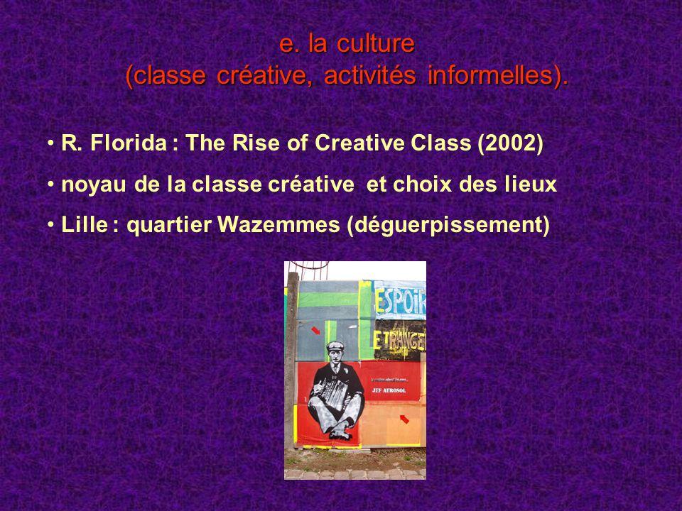 (classe créative, activités informelles).