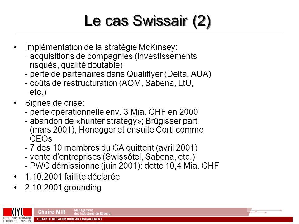 Le cas Swissair (2)