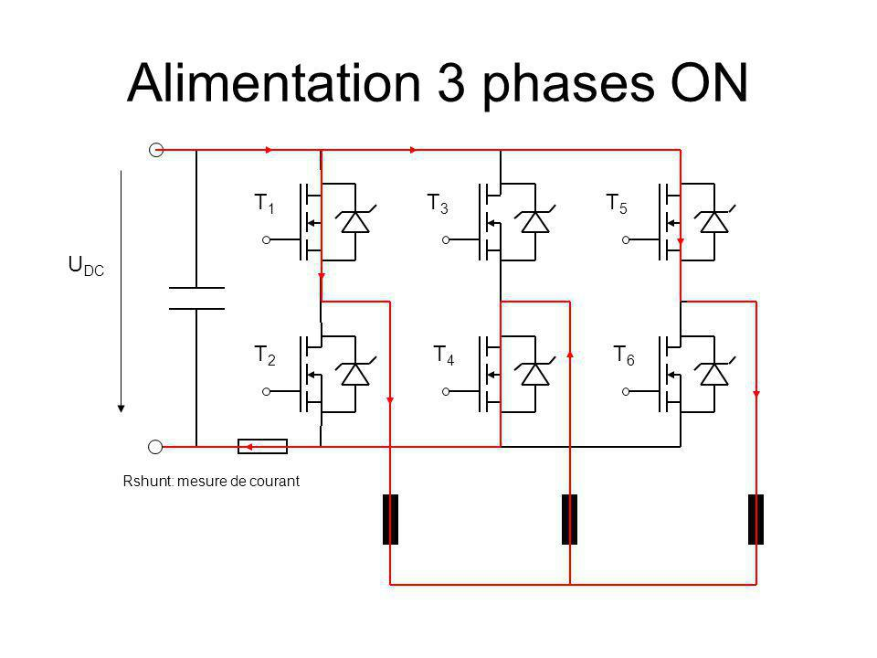 Alimentation 3 phases ON