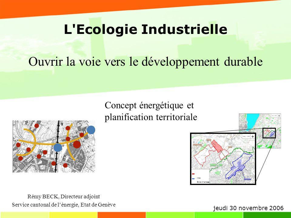 L Ecologie Industrielle