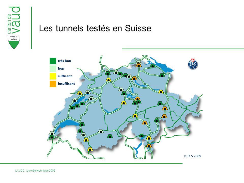 Les tunnels testés en Suisse