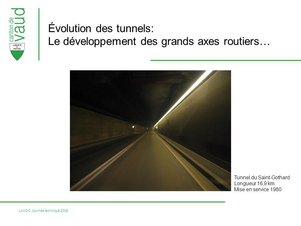 Évolution des tunnels: Le développement des grands axes routiers…