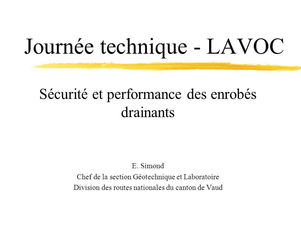 Journée technique - LAVOC