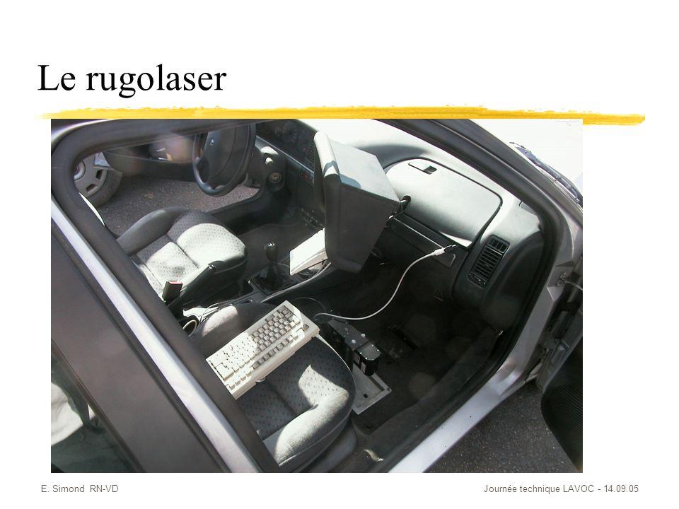 Le rugolaser E. Simond RN-VD Journée technique LAVOC - 14.09.05