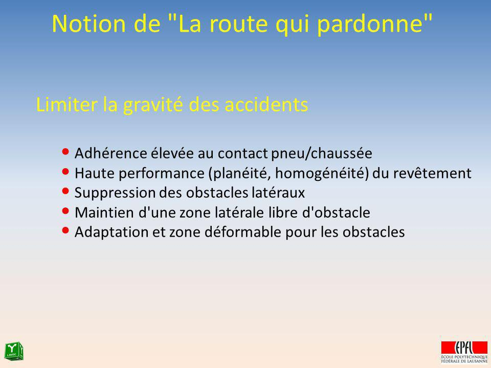 Notion de La route qui pardonne