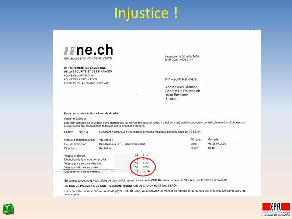 Injustice ! 37