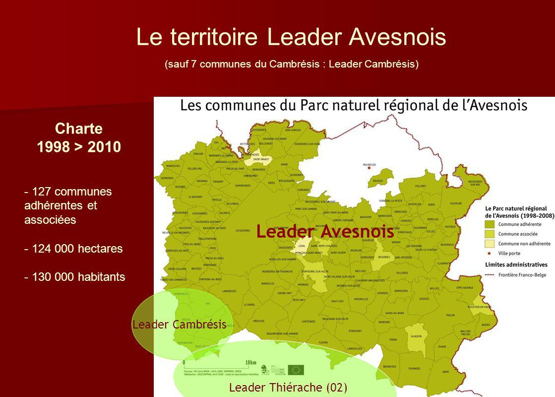 Le territoire Leader Avesnois