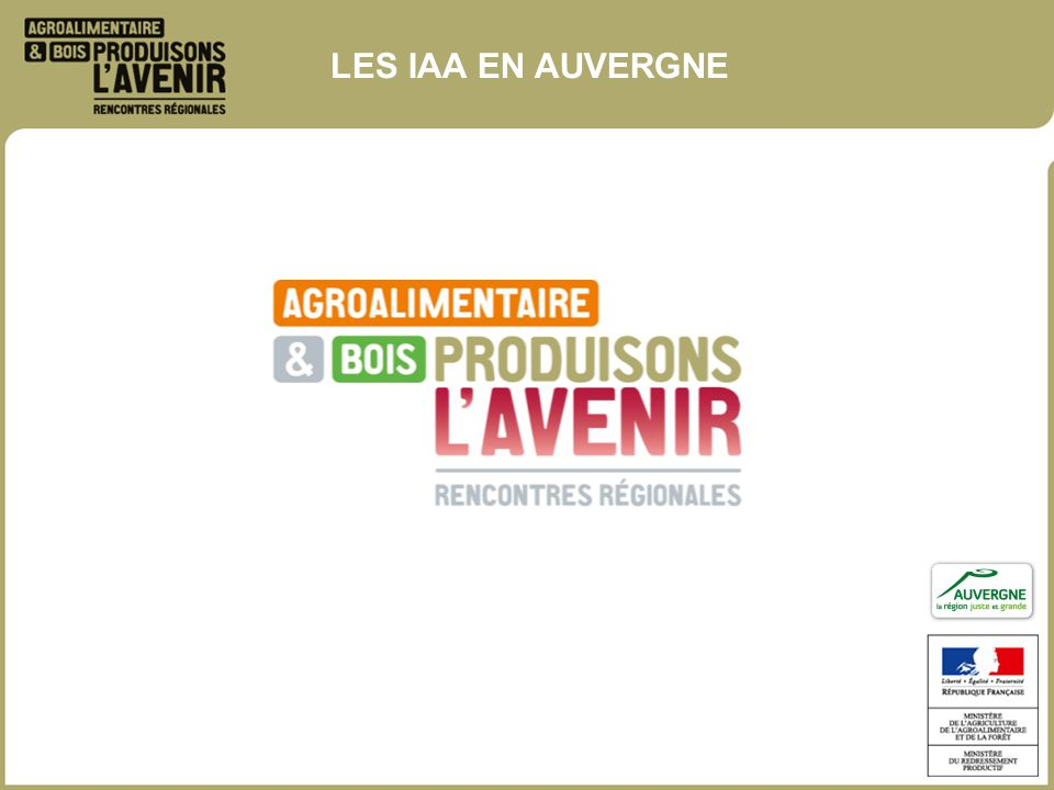 Rencontre regionale agroalimentaire