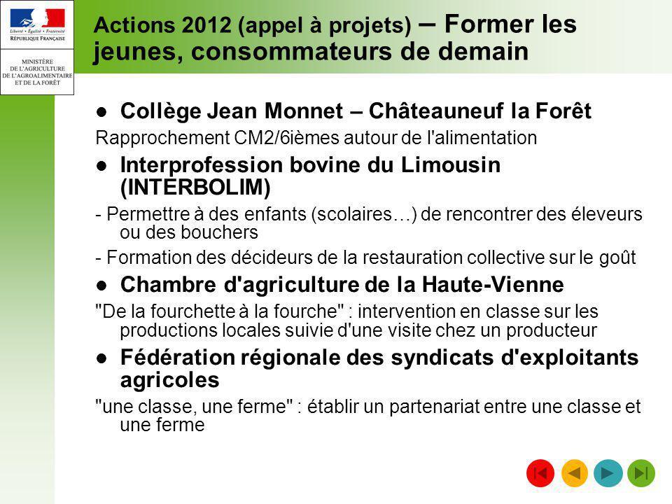 Collège Jean Monnet – Châteauneuf la Forêt