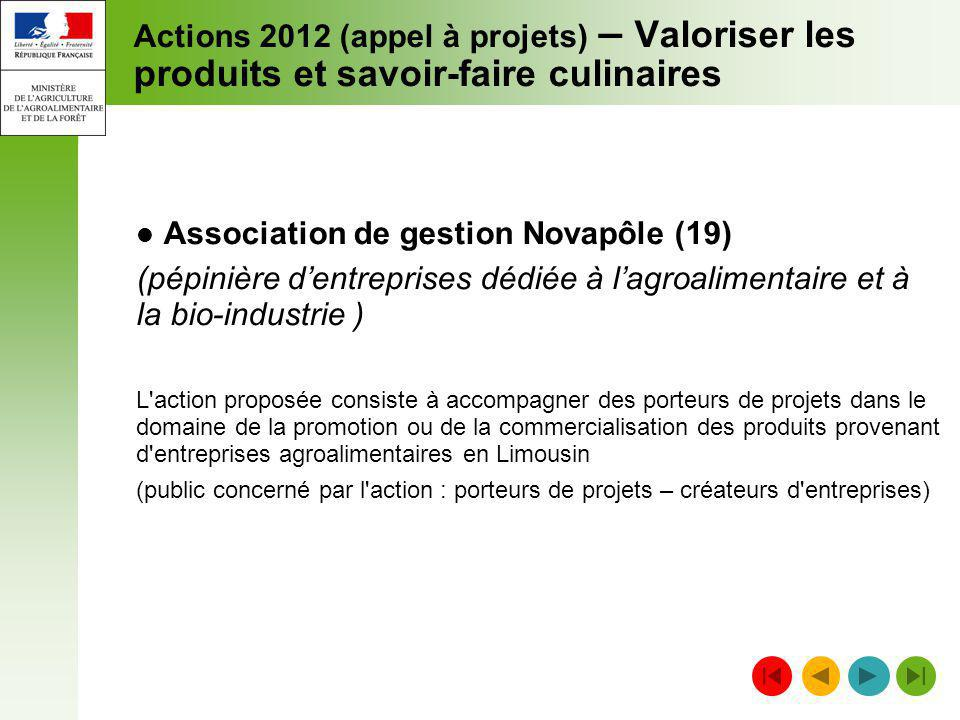 Association de gestion Novapôle (19)