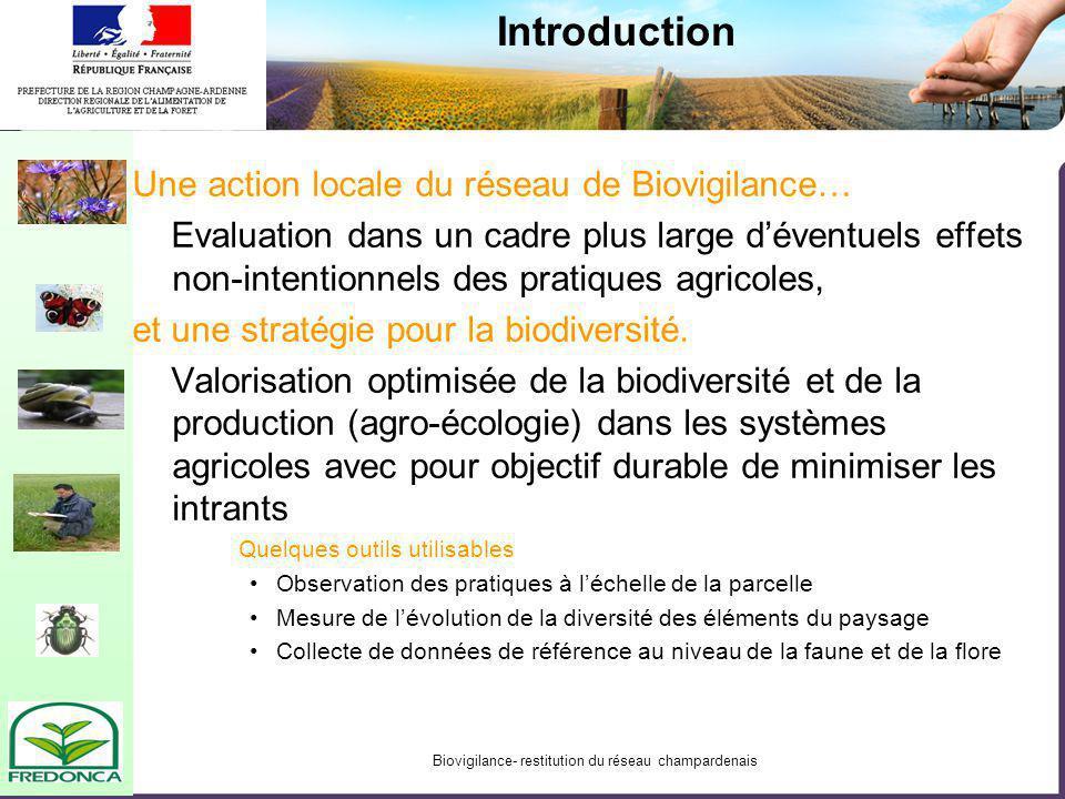Biodiversité des arthropodes terrestres des milieux cultivés de Champagne